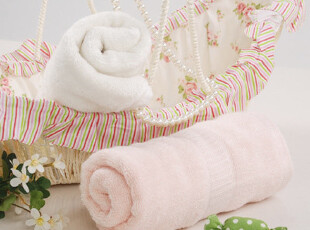 一馨 纯天然竹纤维毛巾 高档奢华 波浪加厚毛巾 柔软厚实 B040,毛巾,