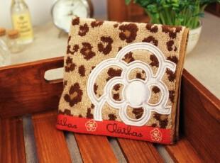 【日单】正品CLATHAS日本 方巾面巾手帕擦手巾 茶花 纯棉外贸毛巾,毛巾,