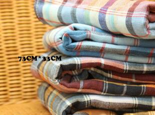 日本订单棉花般超柔强吸水无捻纱 一面纱布一面毛圈 面巾毛巾,毛巾,