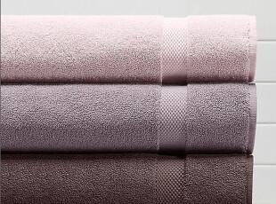 简单的奢华 现货 上等棉线紫色系列浴巾套装,毛巾,