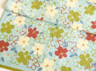 日本原单正品 Jocomomola 花朵印花 纯棉全棉 浴巾,毛巾,
