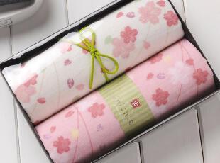 日本内野和风古系列2装毛巾礼盒 纯棉毛巾 纱布毛巾 回礼婚庆礼品,毛巾,