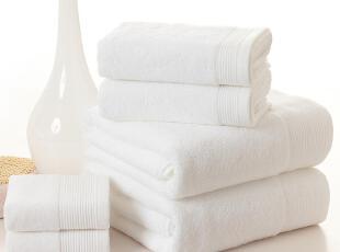 孚日洁玉一等正品星级酒店专用漂白毛巾浴巾方巾白色SPA面巾,毛巾,