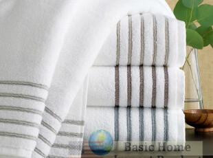 美国进口浴室用品奢华SPA体验长绒棉绝厚超柔纯棉浴巾 国内现货,毛巾,