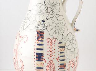 【纽约下城公园】爱丽丝的后花园陶瓷水壶 现货,水壶,