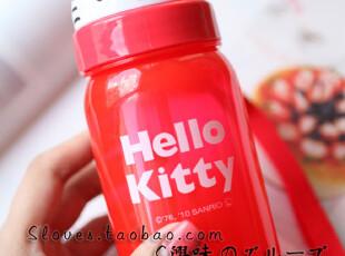 日本正版 HELLO KITTY 350ml便携水壶,水壶,