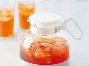 包邮!日本Hario哈里欧 耐冷热玻璃茶壶/咖啡壶 冷热水壶 1800ml,水壶,