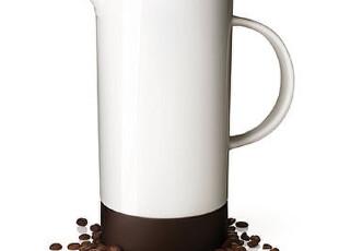 丹麦MENU 抹茶茶壶/咖啡壶/凉水壶 骨瓷带过滤胆(1L)4763439绝版,水壶,