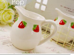 大爱草莓。ZAKKA风陶瓷冷水壶 奶壶花瓶花器 外贸小清新杂货小资,水壶,