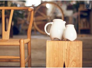 云的水瓶与糖罐 陶瓷带盖牛奶罐茶叶罐冷热水壶 耐受瞬间温差变化,水壶,