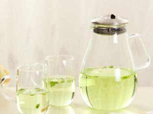 小北家GL35水滴凉水壶冷水壶 玻璃杯 水杯水壶杯子 茶壶茶杯 包邮,水壶,