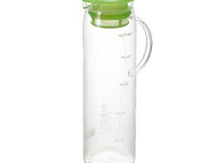 日本Hario 简约直身冷水壶 壶盖带滤网 MDP-10BL,水壶,