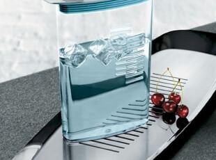 丹麦Stelton 21st Water Jug 1.7L 透明水蓝色 冷水壶,水壶,