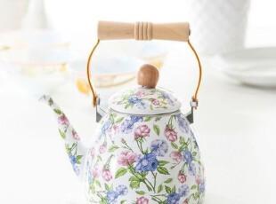 青青乐福 搪瓷水壶l凉水壶 茶壶 冷水壶 高壶 1.5L,水壶,