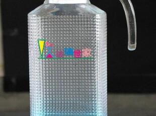 出口级钻石冷水壶 玻璃果汁壶 凉水壶 四方壶 扎壶 可开水,水壶,