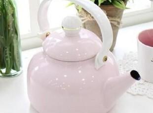 『韩国进口家居』mc2407 粉色可爱公主珠光抗菌烧水壶1.6L,水壶,