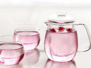 乐怡Vatiri凉水壶 玻璃壶三件套茶杯 耐热玻璃茶具套装 特价包邮,水壶,