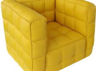 出口日韩 创意面包沙发 儿童小沙发 宝宝皮沙发 儿童家具 黄色,沙发,