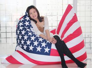 米字旗懒人沙发个性多功能懒人沙发床特价时尚美国国旗沙发特价,沙发,