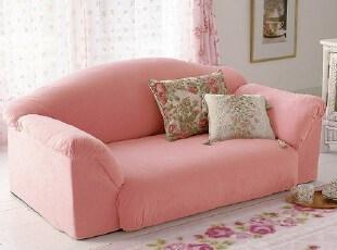 韩式可爱懒人沙发双人沙发宜家小户型沙发布艺沙发榻榻米卧室沙发,沙发,