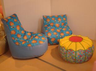 包快递/Q版懒人沙发/可爱卡通南瓜造型/儿童家具/柔软舒适/18,沙发,