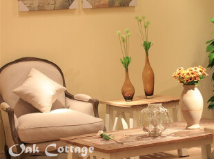 出口法国 法式风格 羽绒填充 客厅书房单人沙发 仿古复古风格,沙发,