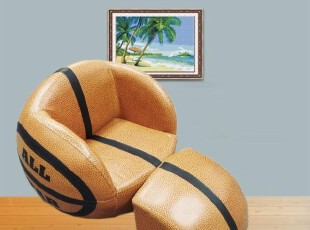热卖儿童节礼物 篮球球球沙发 儿童沙发 摄影棚家具 创意造型家具,沙发,