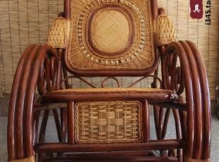 国庆节特价包邮客厅阳台藤摇椅休闲椅天然藤编躺椅 老人逍遥椅,沙发,