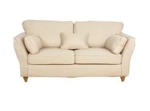 2012北欧简约现代田园纯色多色可选双二两人沙发布艺沙发可定制,沙发,