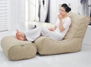 蒙赞懒人沙发床 榻榻米懒骨头宜家可爱单人地板沙发电脑椅GB12,沙发,