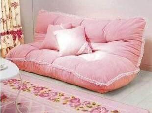 特价 宜家双人情侣榻榻米 韩式田园 懒人沙发 懒骨头 折叠沙发床,沙发,