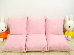 可爱 双人榻榻米 懒人沙发 六格飘窗垫地垫 懒骨头-粉色,沙发,