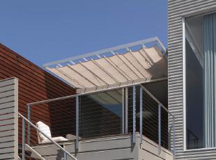 ,当代风格,阳台,
