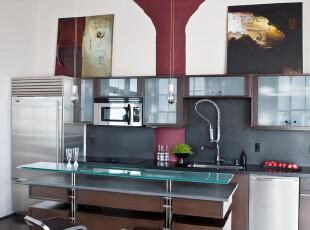 ,现代主义,厨房,