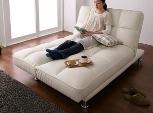 出口日本订单 宜家沙发床 多功能可折叠沙发床 皮艺沙发床 包物流,沙发,