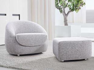 周家庄家具 新款时尚简约现代创意布艺沙发单人沙发组合911,沙发,