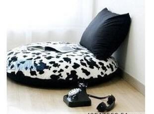 特价包邮 韩日/两件套/单人/懒人沙发床:超软短毛绒奶牛|懒骨头,沙发,