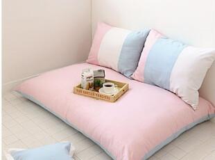 7.22【韩国家居】嫩粉蓝懒人沙发韩式地沙发150*110180*110cm,沙发,