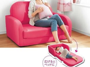 出口日本原单 宜家风格 多功能布艺沙发床 懒人沙发 折叠沙发床,沙发,