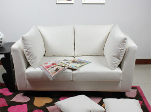 皮艺沙发 宜家风格 简约现代沙发 日式沙发 日本原单 正品,沙发,