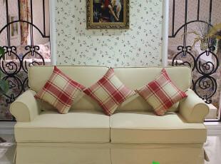 优家优乐 地中海沙发组合 美式乡村田园北欧沙发宜家客厅布艺沙发,沙发,