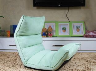 绿脚丫沙发 懒人沙发 单人沙发 地板椅榻榻米可爱和室椅毛毛虫,沙发,