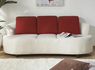 布艺沙发 创意时尚沙发 三人沙发 圆脚踏 简约时尚 日式风格,沙发,