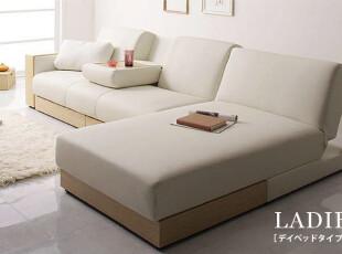 日本原单 带抽屉带茶几 带贵妃位 带超大收纳箱 多功能沙发床,沙发,