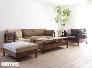 emvo 日式家具 北欧风格 水曲柳 沙发YS-24新款推荐,沙发,