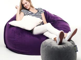 kushy时尚休闲创意懒人沙发椅美国设计可拆洗单人软体沙发,沙发,