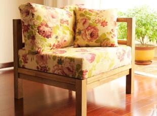 水生之城出口欧洲实木家具/橡木柞木环保/组合沙发