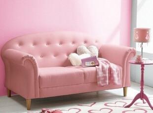 外贸原单 宜家风格 粉色系沙发 双人沙发 卧室沙发 小户型沙发,沙发,