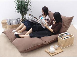 可爱 双人 懒人沙发 六格飘窗垫/地垫 懒骨头 花色任选,沙发,