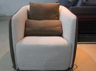 新款 网格沙发 单人沙发 布艺 高档 舒适 意大利设计 凯瑞正品,沙发,